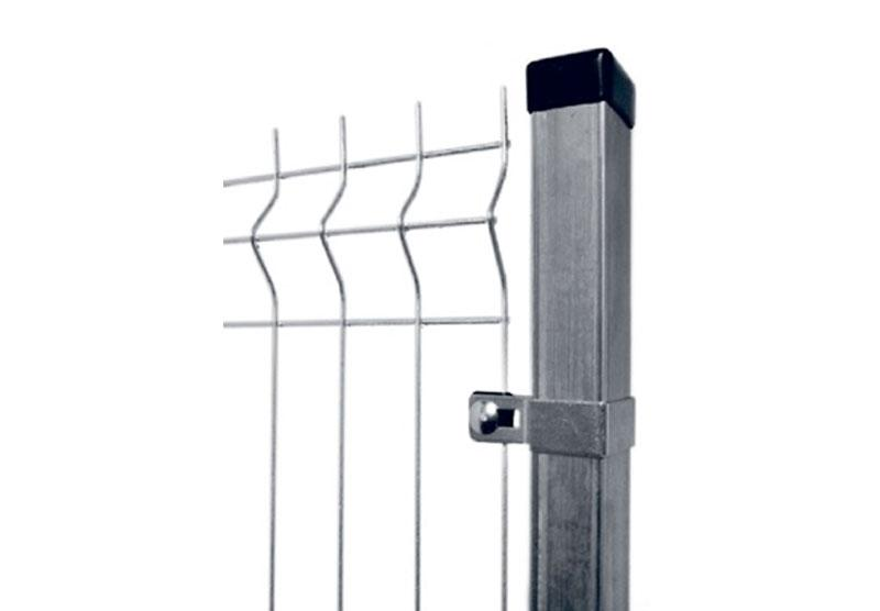 Steel Posts for Fencing Systems and Gates - Welded profiles applied in the production of fences and gates.