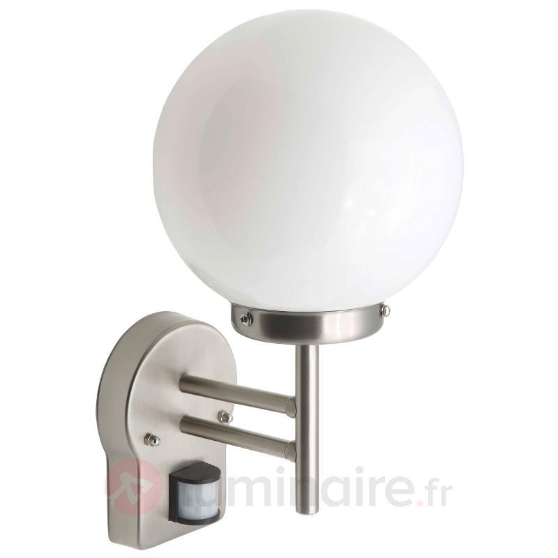 Applique extérieur Magata, détecteur de mouvement - Appliques d'extérieur avec détecteur