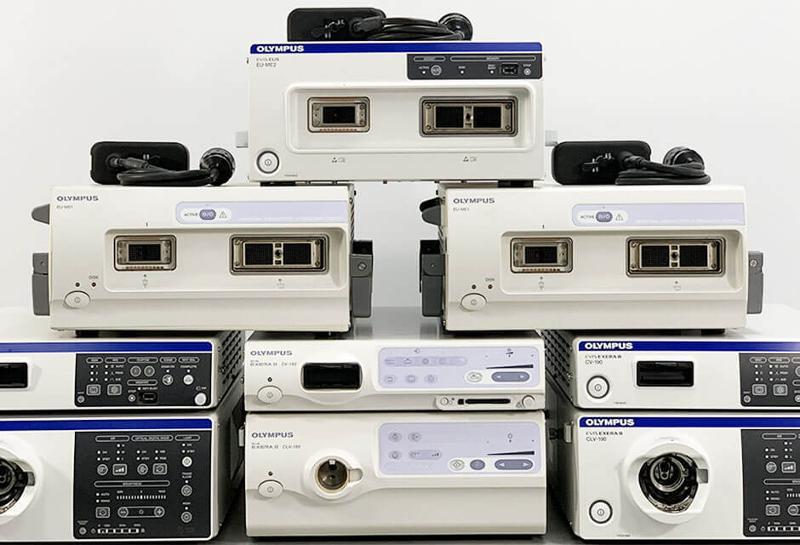 Processeurs Vidéo & Sources De Lumière OLYMPUS, FUJIFILM - Équipement d'endoscopie reconditionnés