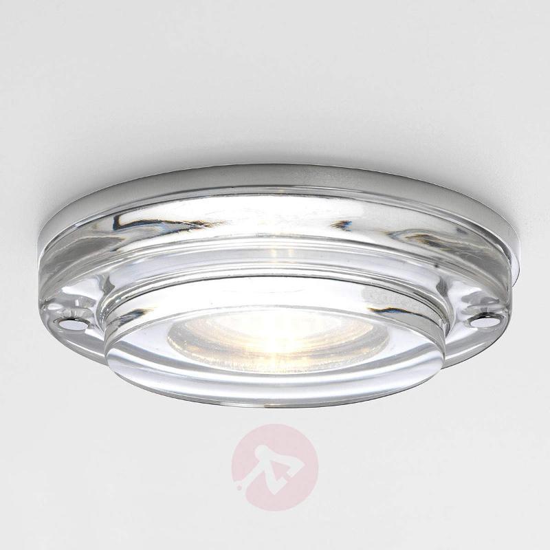 Mint Round Built-In Ceiling Light Elegant - High-Voltage Spotlights