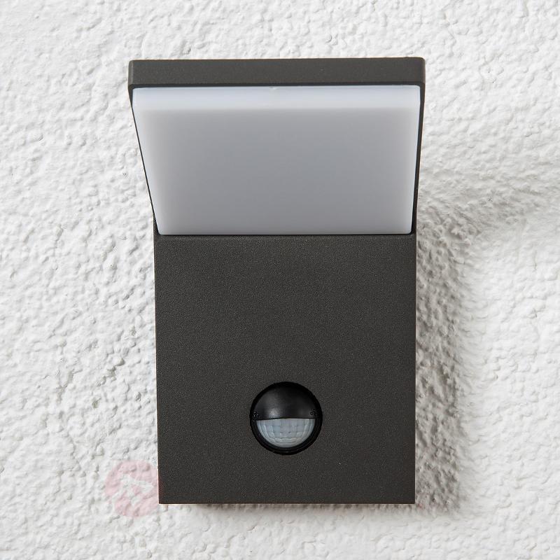 Applique extérieure LED Nevio à détecteur - Appliques d'extérieur avec détecteur