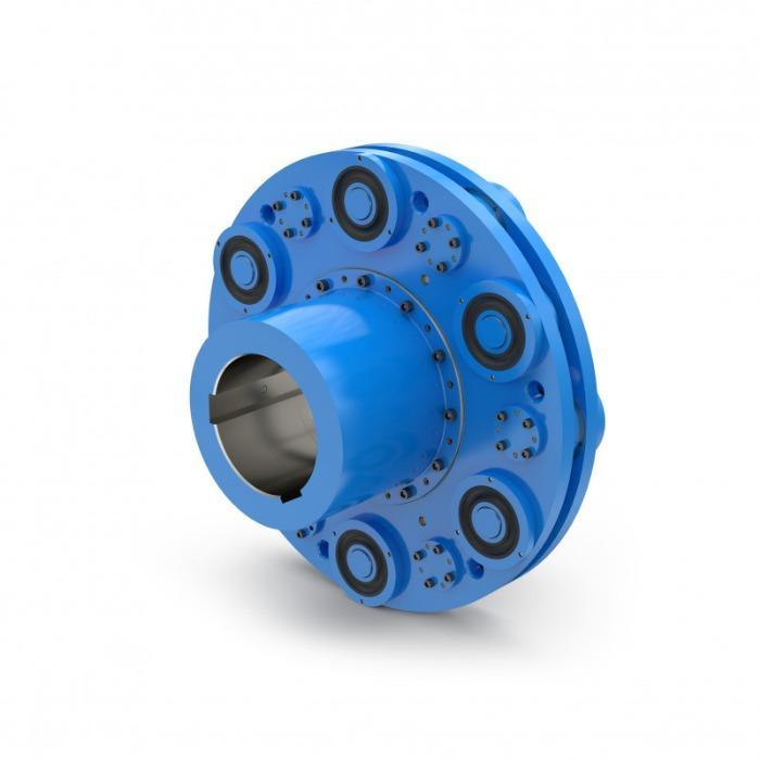 ELBO - Torsionally flexible Pin-Type Couplings