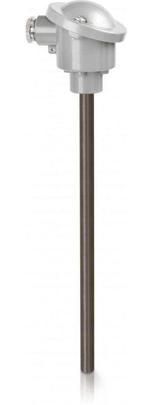OPTITEMP TCA-P61 - Sensor de temperatura de termopar / de brida / a prueba de abrasión