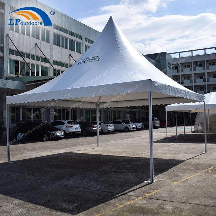 Tente pagode 6x6m pour événement sportif comme centre d'accu - Tente Pagode 6X6M de LP OUTDOORS