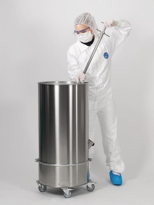 Novartos Multi - Dispositivo de muestreo para polvos, acero inoxidable, para la industria farmacé