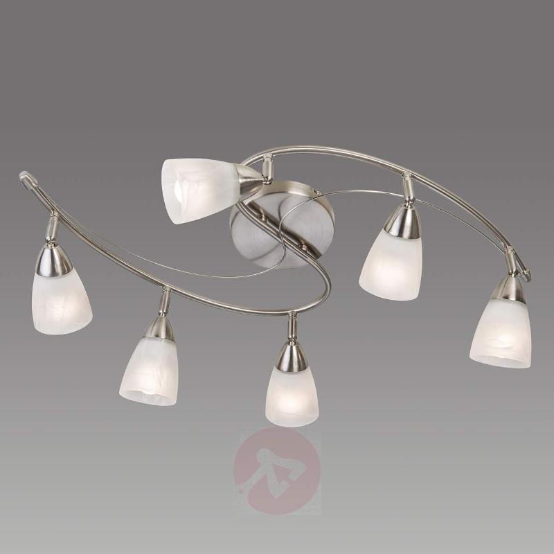 Joel - 6-bulb LED ceiling lamp - Ceiling Lights