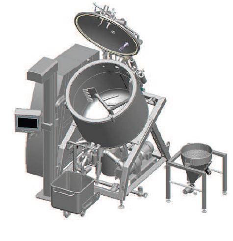 Cuiseur mélangeur cutter fromage fondu vapeur - STEPHAN CT800