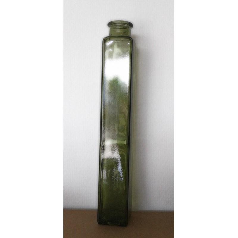 6 Bouteilles Malva de couleur verte 500 ml, bouchon en liège - Flacons et Carafes