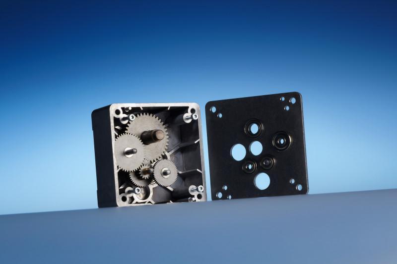 Riduttore coassiale a sistema modulare BK 80