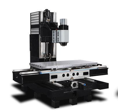 5-Achs-Bearbeitungszentrum - VMX 60 SWi - Schwenkkopf/Rundtisch-Konfiguraton für fertigung mit hoher Variantenvielfalt