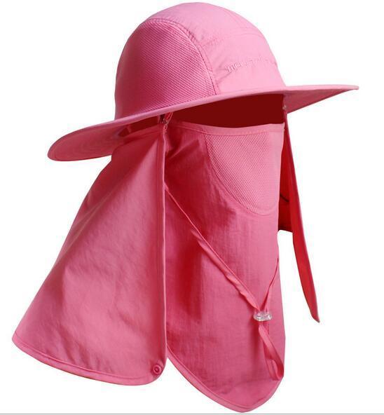 Sombreros con protección -