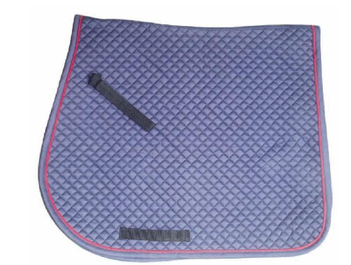 Horse Saddle Pad with Trim - Horse Saddle Pad