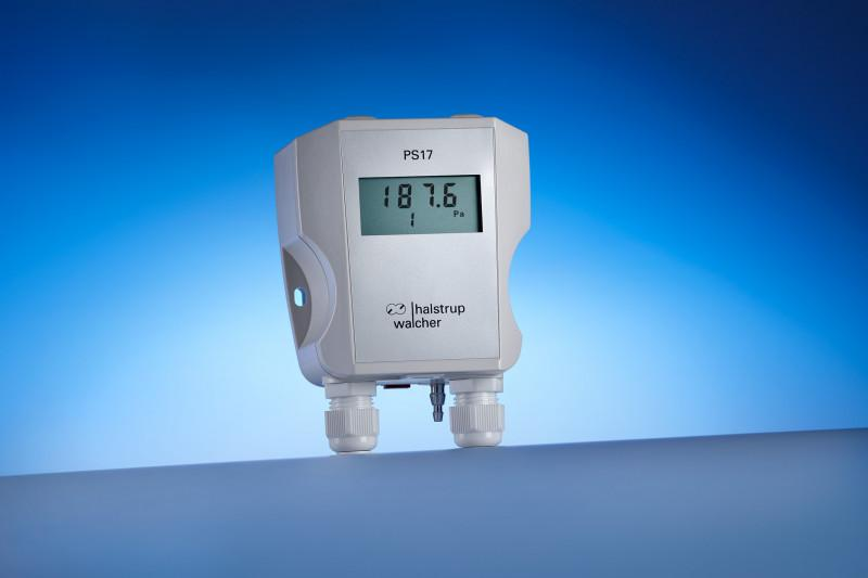 Differential pressure transmitter PS 17 - Compact differential pressure transmitter for various applications