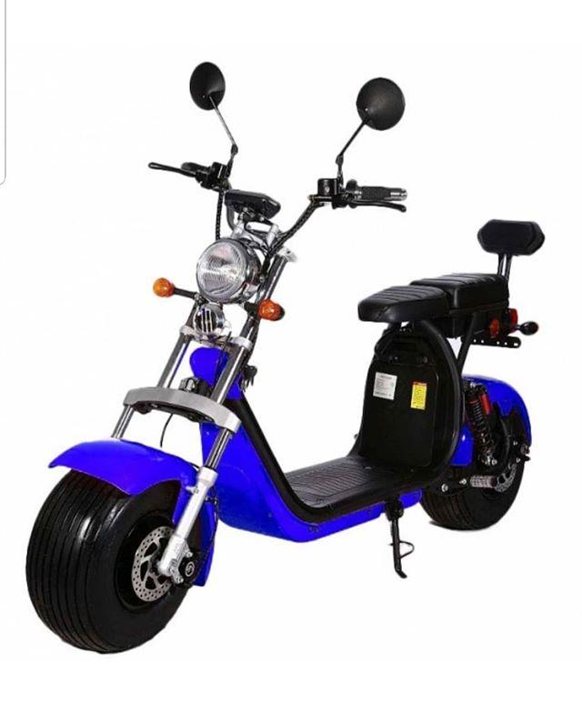 PATINETE ELÉCTRICO HARLEY 1500W MATRICULABLE - Nuevo modelo de patinete eléctrico, scooter eléctrico, matriculable