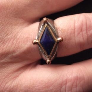 Bagues - Argent, cuivre, dorures, Lapis Lazuli, Afghanistan