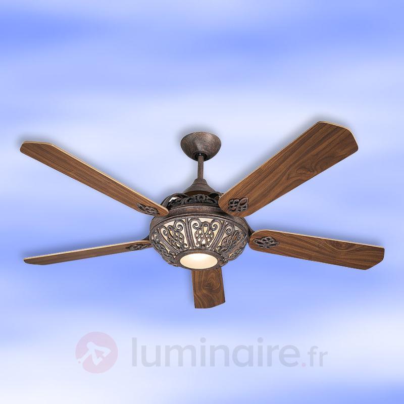 Santa Pepeo - Ventilateur de plafond avec déco - Ventilateurs de plafond lumineux