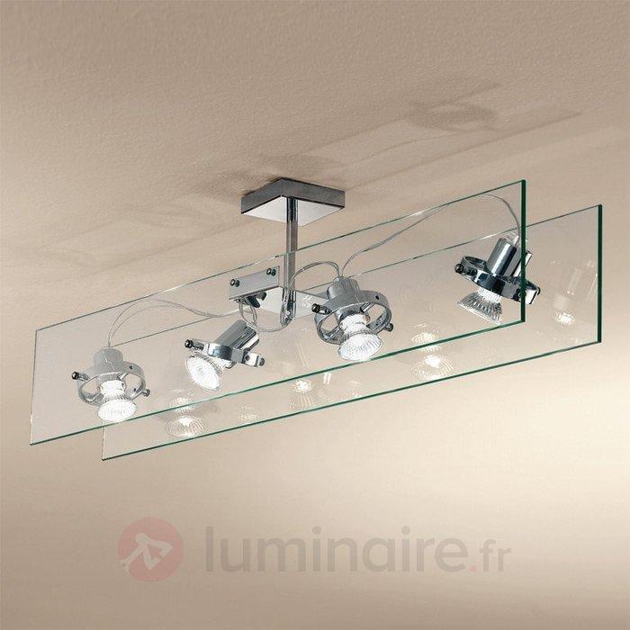 Plafonnier en verre ORBIS - Tous les plafonniers