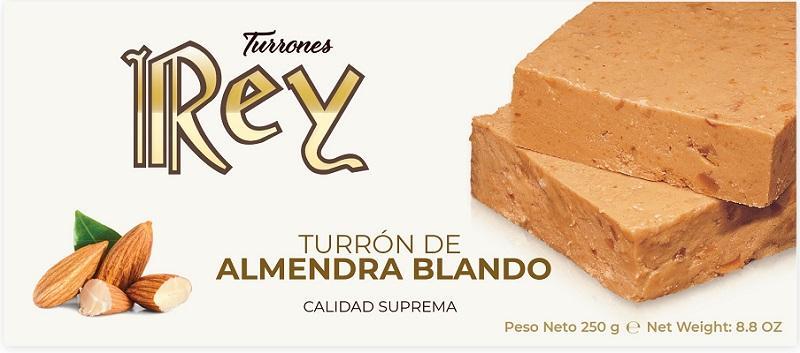 TURRÓN DE ALMENDRA BLANDO - 250GR CALIDAD SUPREMA
