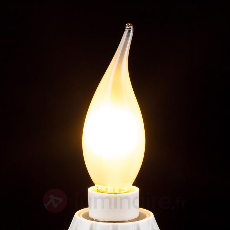 Ampoule flamme LED E14 3,5W 926 variable mate - Ampoules LED E14
