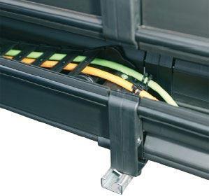 LBT FLIZZ® plastic channel: special solution for long travel distances - null