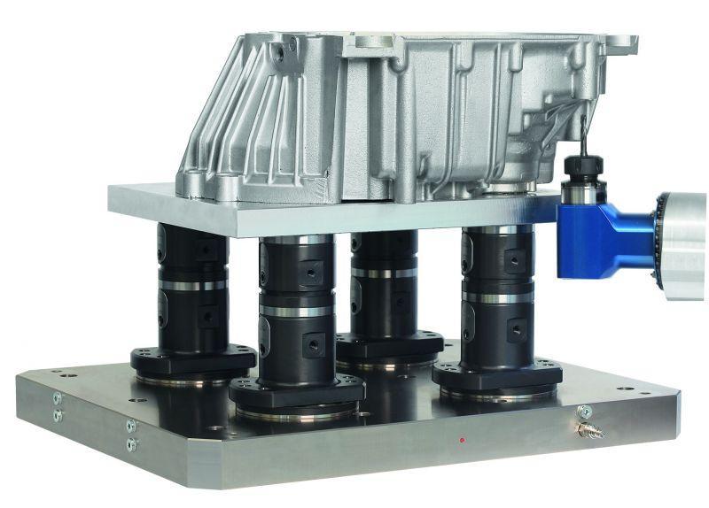 5-Achs-Modulsystem UNI lock - KIPP Spannsystem für Komplettbearbeitung in einer Aufspannung