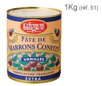Pâte de Marrons Confits Extra - Boîte Métal 4/4
