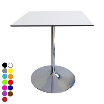 Location de table guéridon carré COMPACT pied - null