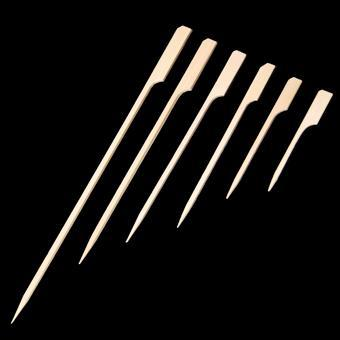 BV05W-100 Skewer Stick white 12 cm 100pcs polybag - null