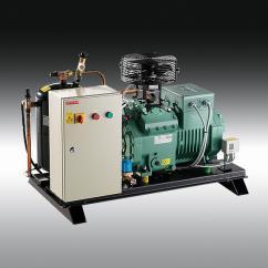 refrigeration-systems / indoor - UCR