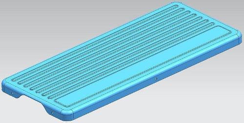 Кондиционер наружный блок верхней крышки пресс-формы - Кондиционер наружный блок верхняя крышка