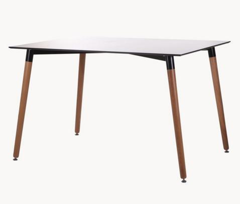 Wooden Table Legs  - Wooden Table Legs with iron structure