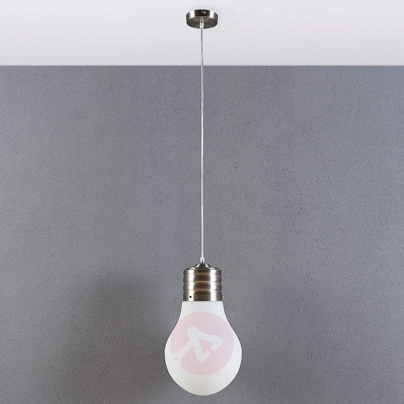 Dimmable LED hanging light Bado in bulb form - indoor-lighting