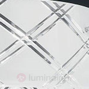 Beau plafonnier MEDUSA 40, 1 lampe, blanc - Plafonniers en verre