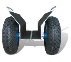 Platten-Klemm-Wagen - null