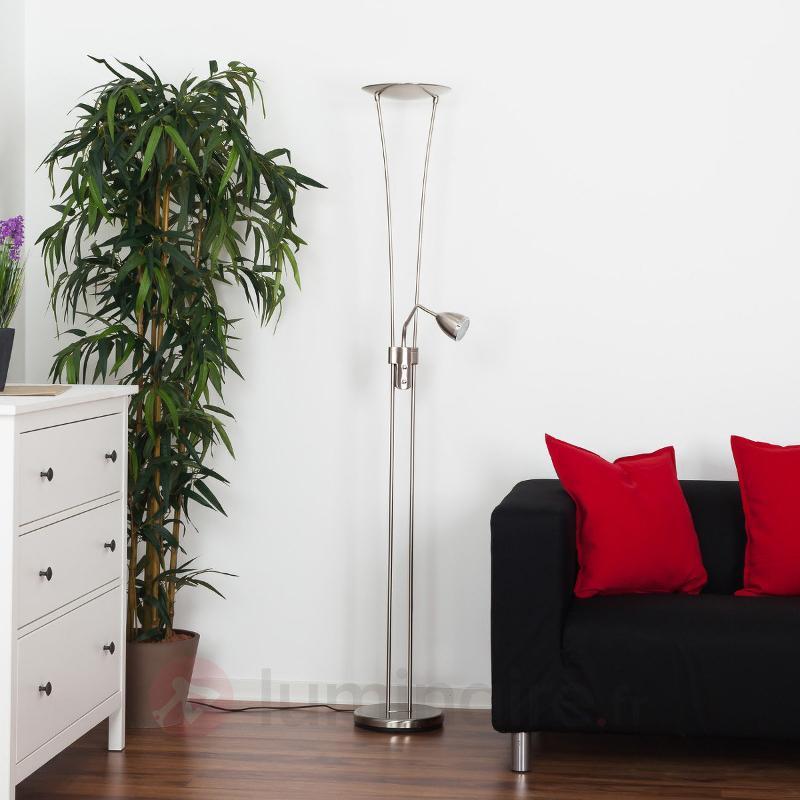 Lampadaire à éclairage indirect LED Yohann - Lampadaires LED à éclairage indirect
