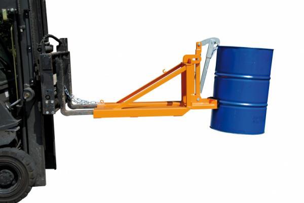 Fasslifter Typ RS, Anbaugerät für Gabelstapler - Sicherer und schneller Transport von gefüllten Fässern