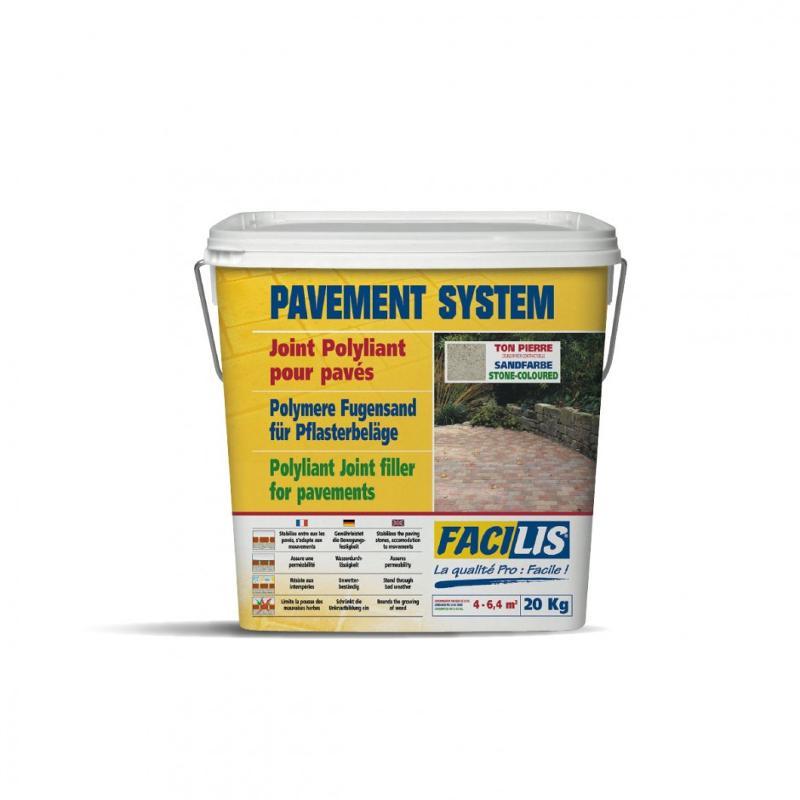 PAVEMENT SYSTEM - Joint polyliant pour pavés