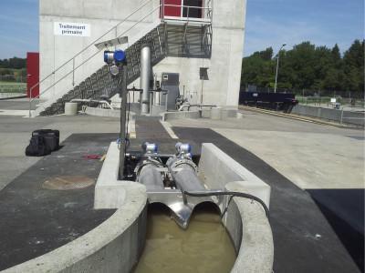 TIDALFLUX 2300 F - Débitmètre pour liquide / électromagnétique /pour conduits partiellement remplis