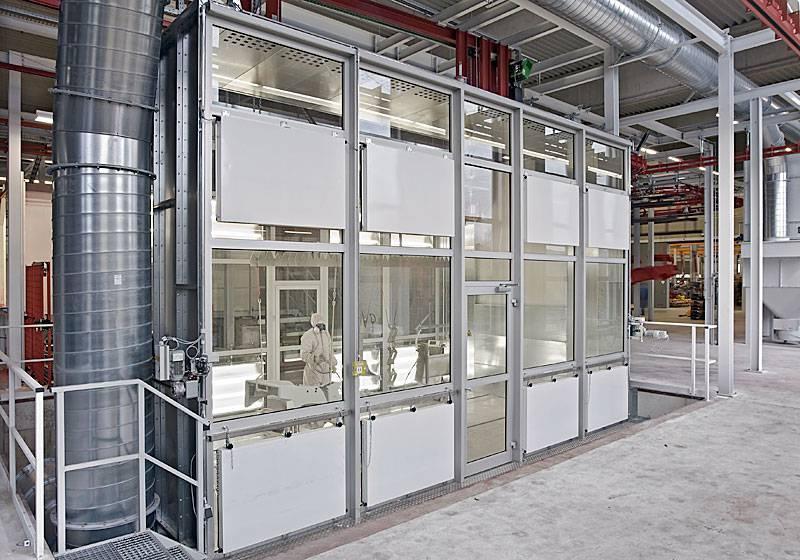 Manual booths - powder-coating
