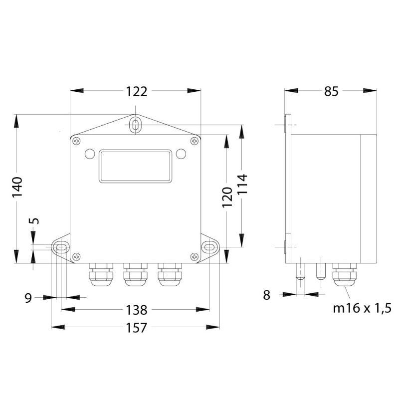 Peritact2000-K - Transmisor de presión diferencial - Peritact2000-K