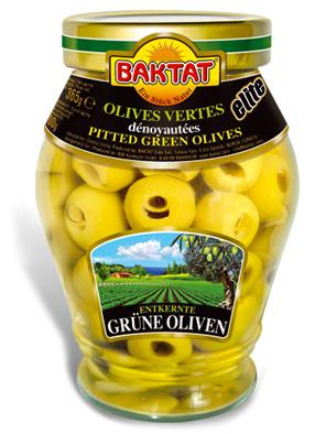Elite Green Olives pitted - null