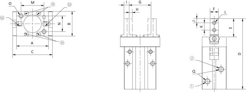 2-Finger Parallelgreifer - null