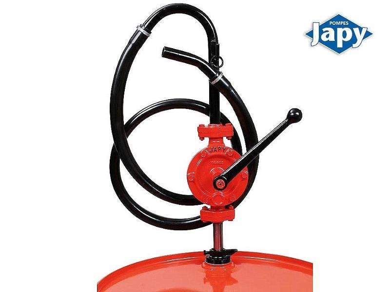 Pompe manuelle équipée en transvaseur de fûts - FHT0 - FHT1 - FHT2 et FHT3T - null