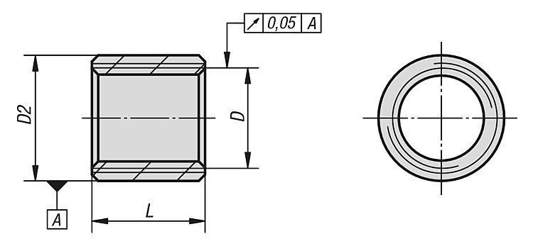 Douille filetée pour systèmes modulaires - Accessoires
