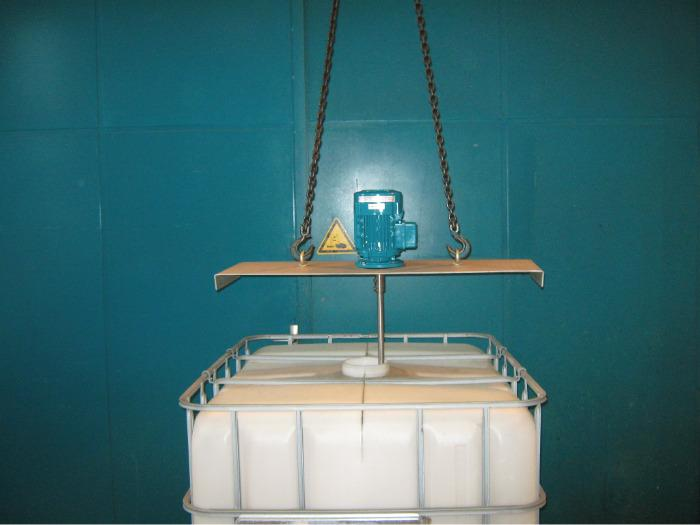 Agitateur à hélice - Pour mélanges en cuves