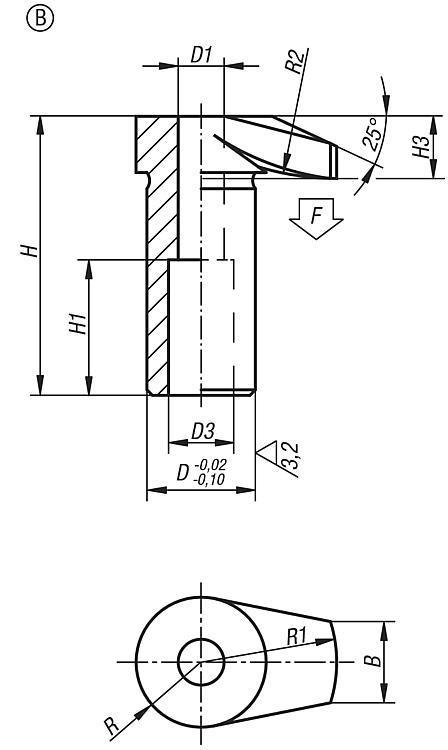 Flexibles Normteilesystem - Spannhaken