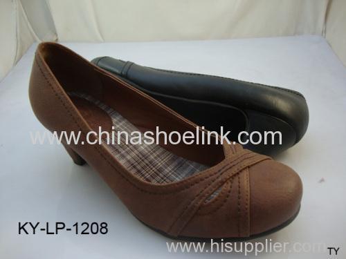 ladies fashion high heel shoes