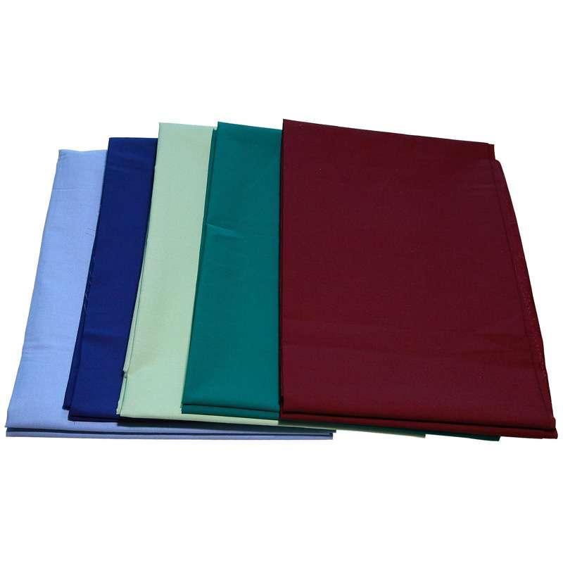 polyester/bomull 65/35  136x72 1/1 - glatt overflate, ren polyester, god krymping,ring spunnet garn