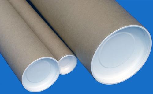 Tube carton  - avec bouchon plastique