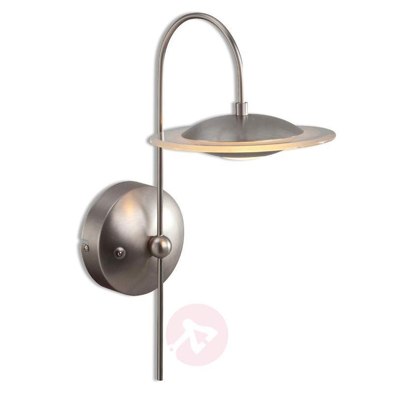 Curved Zelena LED wall light, 1-bulb - Wall Lights
